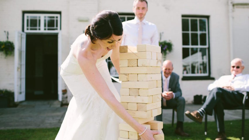 5 Wedding Game Ideas