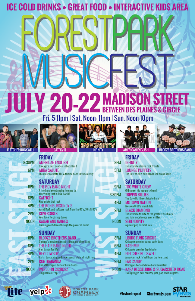 Forest Park Music Fest 2018 - StarEvents