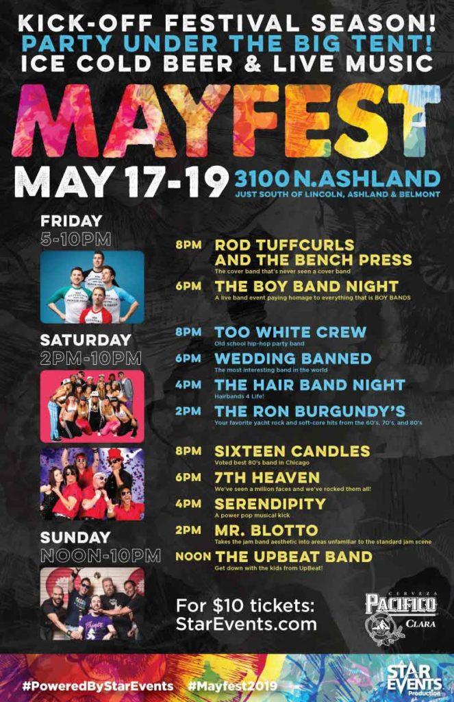 Chicago Mayfest- May 18-19, 2019   BoredomMD com