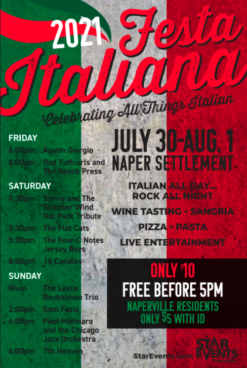 Festa Italiana Poster