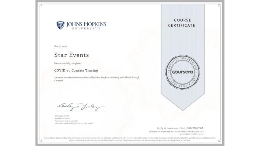 COVID Certification